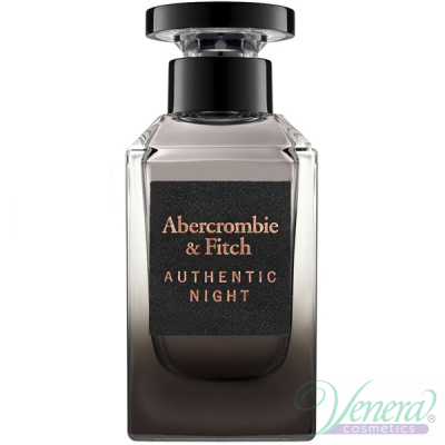 Abercrombie & Fitch Authentic Night Man EDT 100ml за Мъже