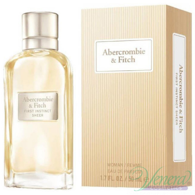 Abercrombie & Fitch First Instinct Sheer EDP 50ml за Жени Дамски Парфюми