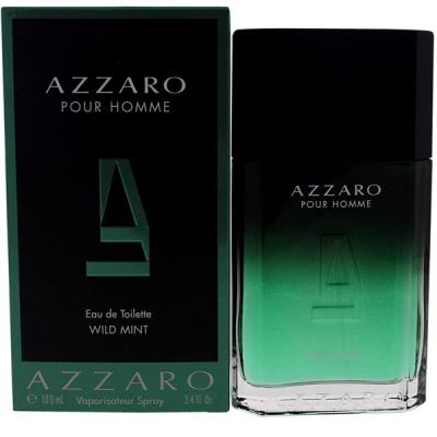 Azzaro Pour Homme Wild Mint EDT 100ml за Мъже Мъжки Парфюми