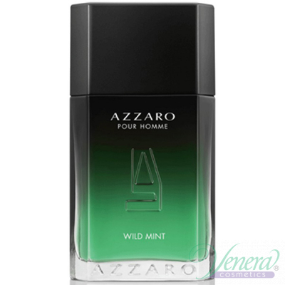 Azzaro Pour Homme Wild Mint EDT 100ml за Мъже БЕЗ ОПАКОВКА