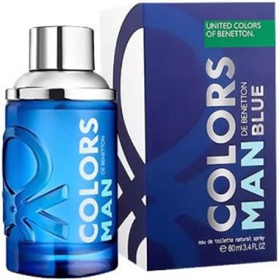 Benetton Colors Man Blue EDT 60ml за Мъже Мъжки Парфюми