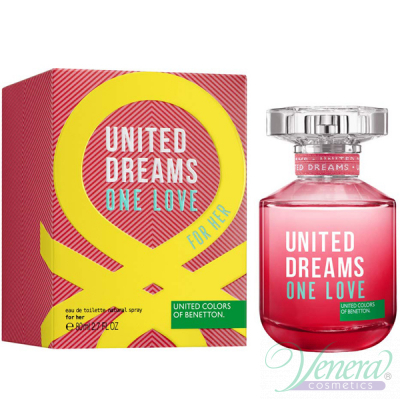 Benetton United Dreams One Love EDT 80ml за Жени