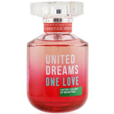 Benetton United Dreams One Love EDT 80ml за Жени БЕЗ ОПАКОВКА