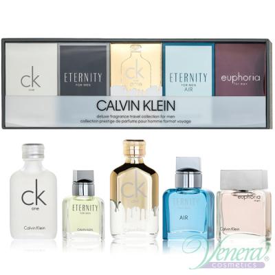 Calvin Klein Deluxe Collection Miniature 5 x EDT 10ml за Мъже Комплекти