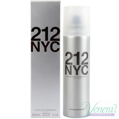 Carolina Herrera 212 Deo Spray 150ml за Жени