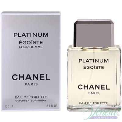 Chanel Egoiste Platinum EDT 100ml за Мъже БЕЗ ОПАКОВКА