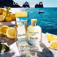 Dolce&Gabbana Light Blue Italian Zest Pour Homme EDT 125ml за Мъже БЕЗ ОПАКОВКА