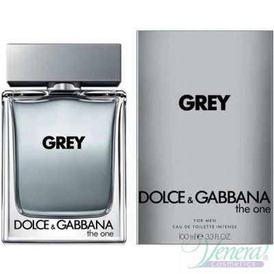 Dolce&Gabbana The One Grey EDT Intense 100ml за Мъже