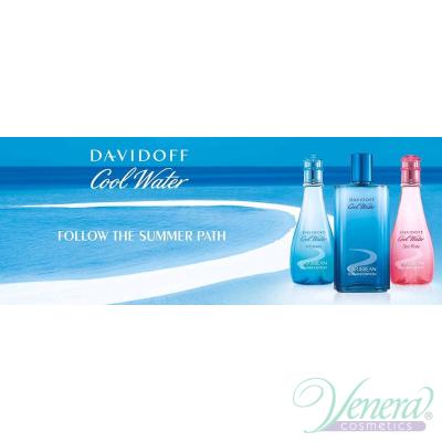 Davidoff Cool Water Caribbean Summer Edition EDT 100ml за Жени БЕЗ ОПАКОВКА Дамски Парфюми без опаковка