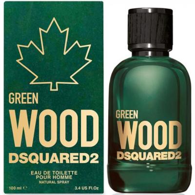 Dsquared2 Green Wood EDT 100ml за Мъже Мъжки Парфюми