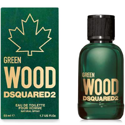 Dsquared2 Green Wood EDT 50ml за Мъже Мъжки Парфюми