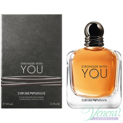 Emporio Armani Stronger With You EDT 150ml за Мъже Мъжки Парфюми
