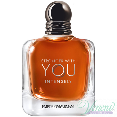 Emporio Armani Stronger With You Intensely EDP 100ml за Мъже БЕЗ ОПАКОВКА Мъжки Парфюми без опаковка