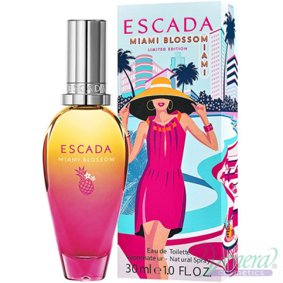 Escada Miami Blossom Set (EDT 30ml + Bag) за Жени