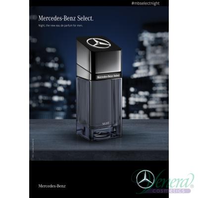 Mercedes-Benz Select Night EDP 100ml за Мъже БЕЗ ОПАКОВКА Мъжки Парфюми без опаковка