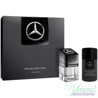 Mercedes-Benz Select Комплект (EDT 50ml + Deo Stick 75ml) за Мъже Мъжки Комплекти