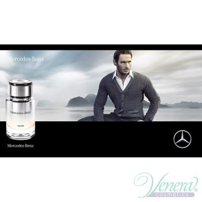 Mercedes-Benz Silver EDT 120ml за Мъже БЕЗ ОПАКОВКА Мъжки Парфюми без опаковка