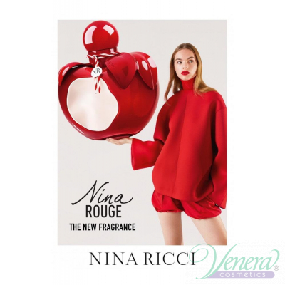 Nina Ricci Nina Rouge EDT 80ml за Жени БЕЗ ОПАКОВКА