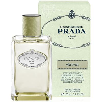 Prada Infusion de Vetiver EDP 100ml за Мъже и Жени БЕЗ ОПАКОВКА Унисекс парфюми без опаковка