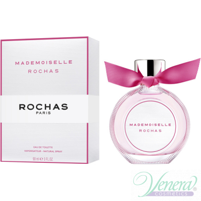 Rochas Mademoiselle Eau de Toilette EDT 90ml за Жени Дамски Парфюми