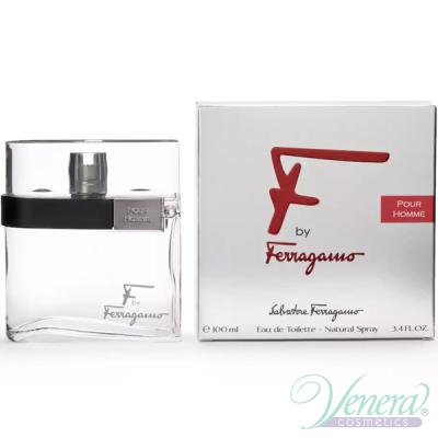 Salvatore Ferragamo F by Ferragamo Pour Homme EDT 50ml за Мъже Мъжки Парфюми