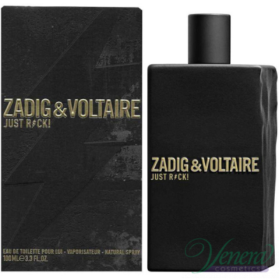 Zadig & Voltaire Just Rock! for Him EDT 100ml за Мъже Мъжки Парфюми