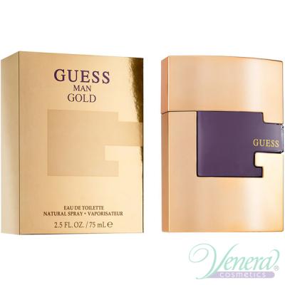 Guess Man Gold EDT 75ml за Мъже БЕЗ ОПАКОВКА Мъжки Парфюми без опаковка