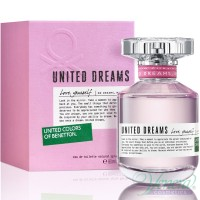 Benetton United Dreams Love Yourself EDT 80ml за Жени Дамски Парфюми