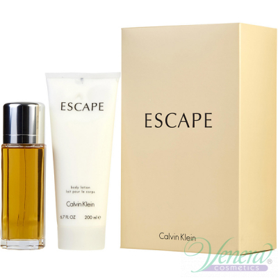 Calvin Klein Escape Комплкт (EDP 100ml + BL 200ml) за Жени
