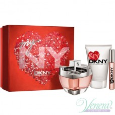 DKNY My NY Комплект (EDP 100ml + BL 100ml + Roll On 10ml) за Жени