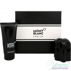 Mont Blanc Emblem Комплект (EDT 60ml + AS Balm 100ml) за Мъже
