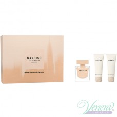 Narciso Rodriguez Narciso Poudree Комплект (EDP 50ml + BL 50ml + SG 50ml) за Жени