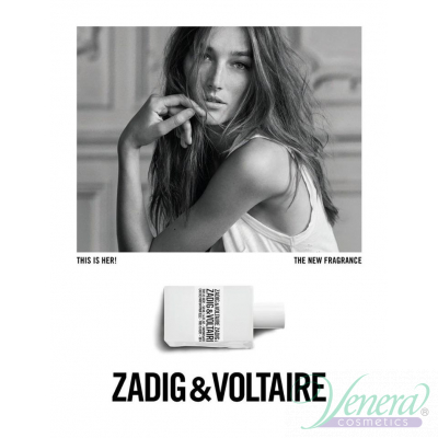 Zadig & Voltaire This is Her Set (EDP 50ml + Pouch) Happy Zadig! за Жени Дамски Комплекти