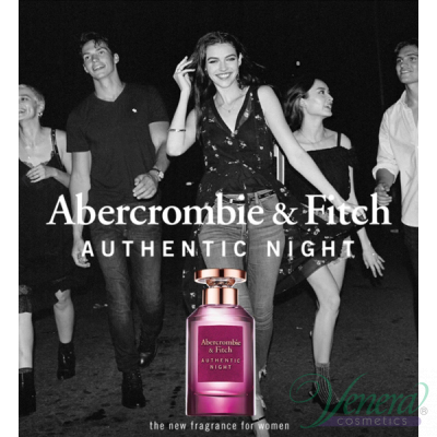Abercrombie & Fitch Authentic Night Woman К...