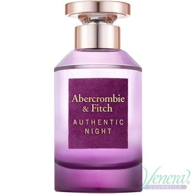 Abercrombie & Fitch Authentic Night Woman EDP 100ml за Жени БЕЗ ОПАКОВКА Дамски Парфюми без опаковка
