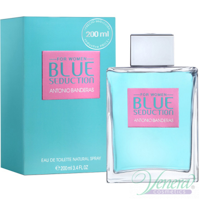 Antonio Banderas Blue Seduction EDT 200ml за Жени