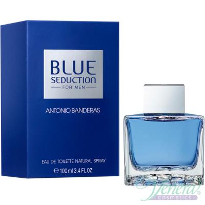 Antonio Banderas Blue Seduction EDT 100ml за Мъже