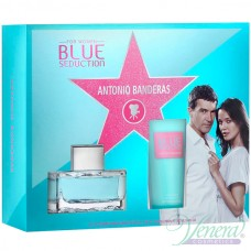 Antonio Banderas Blue Seduction Комплект (EDT 50ml + BL 100ml) за Жени