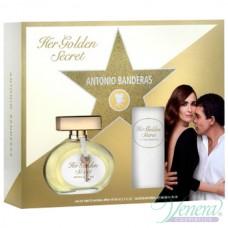 Antonio Banderas Her Golden Secret Комплект (EDT 80ml + Deo Spray 150ml) за Жени