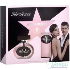 Antonio Banderas Her Secret Комплект (EDT 50ml + BL 100ml) за Жени