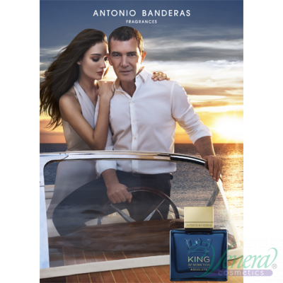 Antonio Banderas King of Seduction Absolute EDT 200ml за Мъже Мъжки Парфюми