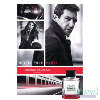 Antonio Banderas Power of Seduction EDT 50ml за Мъже Мъжки Парфюми