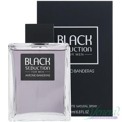 Antonio Banderas Seduction in Black EDT 200ml за Мъже