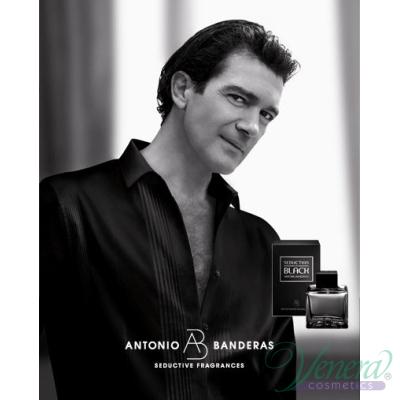Antonio Banderas Seduction in Black EDT 200ml за Мъже Мъжки Парфюми