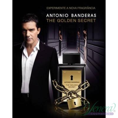 Antonio Banderas The Golden Secret EDT 100ml за Мъже Мъжки Парфюми