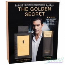 Antonio Banderas The Golden Secret Комплект (EDT 100ml + AS Balm 100ml) за Мъже