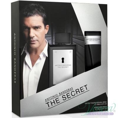 Antonio Banderas The Secret Комплект (EDT 100ml + AS Balm 100ml) за Мъже