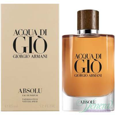 Armani Acqua Di Gio Absolu EDP 125ml за Мъже