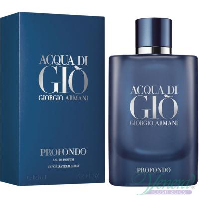 Armani Acqua Di Gio Profondo EDP 125ml за Мъже Мъжки Парфюми