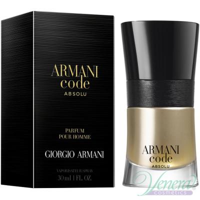 Armani Code Absolu EDP 30ml за Мъже Мъжки Парфюми